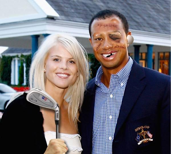 Tiger Woods Malin